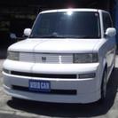 トヨタ bB 1.3 S Wバージョン ・社外アルミ(ホワイト...