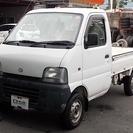 スズキ キャリイ 660 KA 3方開 4WD エアコン(ホワ...