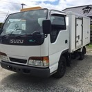 いすゞ エルフ 保冷車 (ホワイト) トラック