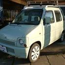 スズキ ワゴンR 5ドア660コラム 4WD (ライトグリーン...