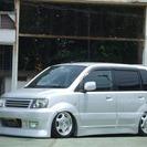 三菱 eKスポーツ 660 R エアサス ターボ(シルバー) ...