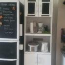 コンセント付き食器棚