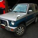 三菱 パジェロミニ 660 XR-II (グリーングレー) ク...