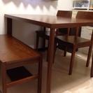 ダイニングテーブル 椅子 4点セット