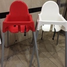 IKEA子ども用ハイチェア2脚セット