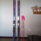 スキー板、サロモン8100EQUIFE.DEMO。SCOTT