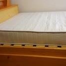 収納引き出し付きシングルベッド