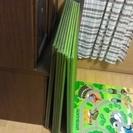 畳マット 約900×約900 色2種 緑4枚×深緑4枚 合計8枚 ...