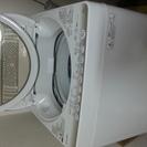 昨年購入したTOSHIBA洗濯機
