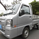 スバル サンバートラック 660 TB 三方開 (シルバー) ...
