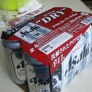 アサヒスーパードライ350㍉㍑6缶セット