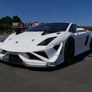 ランボルギーニ ガヤルド レーシングカー (ホワイト) クーペ