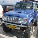 スズキ ジムニー 660 幌 CC 4WD (ブルー) クロカ...