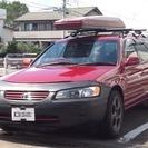 トヨタ カムリグラシアワゴン 2.2 (ワインレッド) ステー...