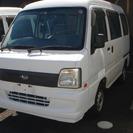 スバル サンバー 660 VB 4WD (ホワイト) ハッチバ...