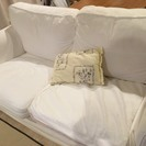 【IKEA 二人掛けソファー】