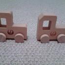 JAL搭乗記念 木のトラック