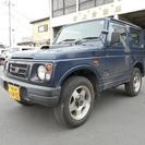 スズキ ジムニー 660 XS 4WD 車検整備付(ダークブル...