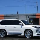 レクサス LX 570 4WD (パールホワイト) クロカン・SUV