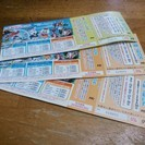 よみうりランド乗り物券1枚付き入園券 3枚
