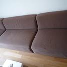 布製ソファ。三脚あります