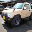 三菱 パジェロミニ 660 アイアンクロス V 4WD 5速MT...
