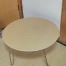座卓?ローテーブル?4脚足がたためる 譲ります