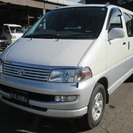トヨタ ハイエースレジアス 2.7 4WD サンルーフ(パール...