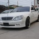 メルセデス・ベンツ Sクラス S500L (ホワイト) セダン