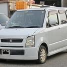スズキ ワゴンR 660 FS ターボ車 社外アルミ車検2年取後...