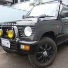 三菱 パジェロミニ 660 アイアンクロス X 4WD (ブラ...