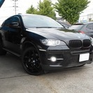BMW X6 xドライブ 50i 4WD OP21インチアルミベ...