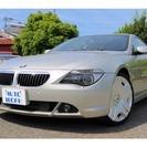 BMW 6シリーズ 645Ci ローダウン 20インチAW本革パ...