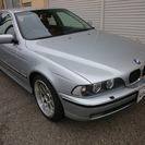 BMW 5シリーズ 528i HID BBS18アルミ(シルバ...