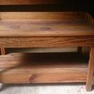 アンティークの木の机 テーブル