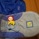 折り畳み可能で持ち運び袋付き☆新生児から使えるバウンサー