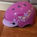 女の子用自転車ヘルメット