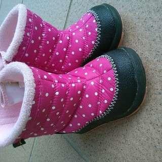 IFME女の子冬用ブーツ13.5cm