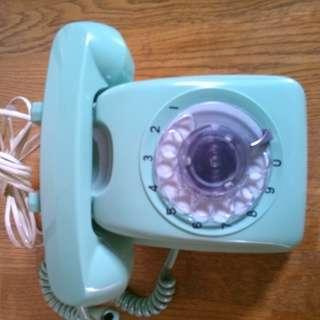 ダイヤル式電話機 中古品