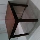 無印良品MUJI天然木(バーチ材)エクステンションテーブル