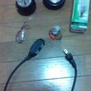 お値下げ!無料!電球、延長コード、ライト、子どもの理科セット