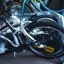 値下げ!新品未使用ハマーの折り畳み式自転車