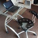 オシャレPC台+椅子セット