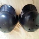 軟式用ヘルメット左右2個セット