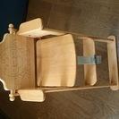 アンパンマン 木製ハイチェア ベビーチェア 食事 椅子