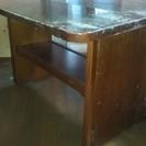 値下げ!●折りたたみ式テーブル●カナディアン製●