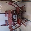 テーブルと椅子4