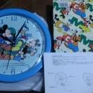 ディズニー時計 直径25㎝