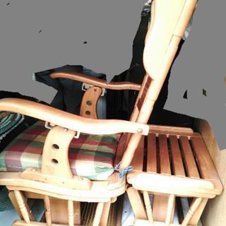 揺り椅子☆短期間使用☆価格交渉可能★ロッキングチェアイス椅子