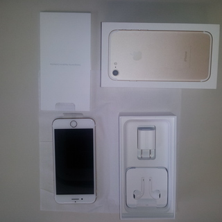 シムフリー、未使用品、iPhone7 32G